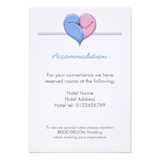 Two Doves One Heart Wedding Enclosure Card Invitations