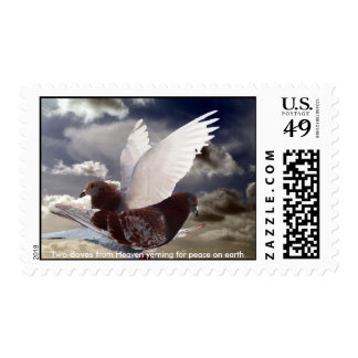 Two Doves Postage