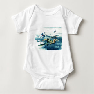 Two Down to Glory by William S. Phillips Baby Bodysuit