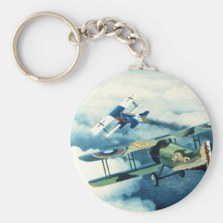 Two Down to Glory by William S. Phillips Basic Round Button Keychain