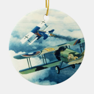 Two Down to Glory by William S. Phillips Ceramic Ornament