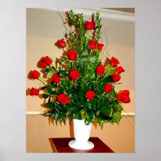 Two dozen roses poster
