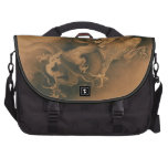 Two Dragons in Clouds Vintage Computer Bag