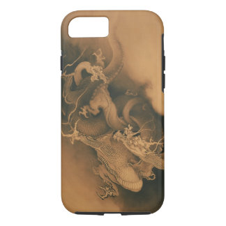 Two Dragons in Clouds Vintage iPhone 7 Case