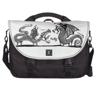Two Dragons Commuter Bag