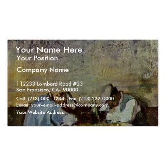 Two Drunks By Grigorescu Nicolae (Best Quality) Double-Sided Standard Business Cards (Pack Of 100)