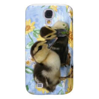 two ducklings one eyeing camera close samsung s4 case