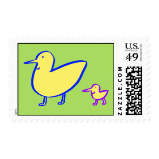 Two Ducks Postage