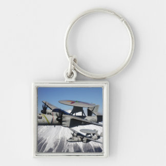 Two E-2C Hawkeyes conduct a flyby Keychain