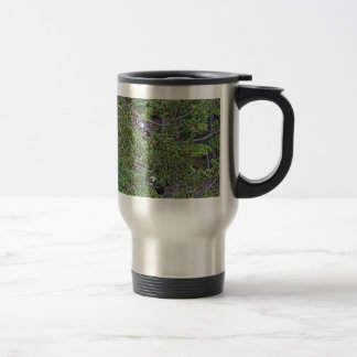 Two Eagles in an Evergreen Tree Travel Mug