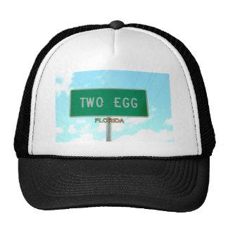 TWO EGG, FLORIDA TRUCKER HAT