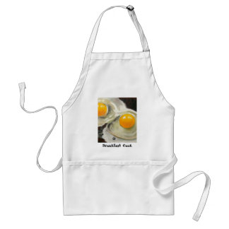 TWO EGGS REALISM ARTWORK ADULT APRON