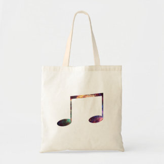 Two eighth nebula 1 notes budget tote bag