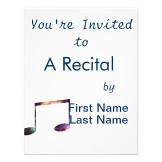 Two eighth nebula 1 notes custom invite