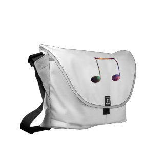 Two eighth nebula 1 notes messenger bags