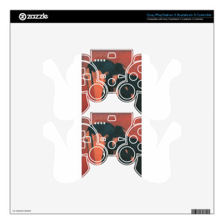 Two Elephants by Amrita Sher-Gil Decal For PS3 Controller