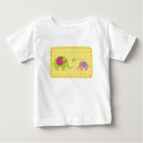 Two elephants with butterfly baby T-Shirt