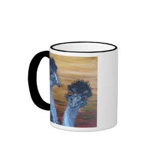 Two Emus Coffee Mug