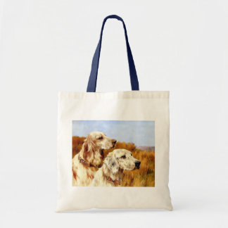 Two English Setters by Arthur Wardle Bag