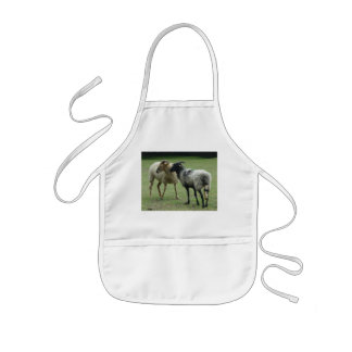 Two ewes kids' apron