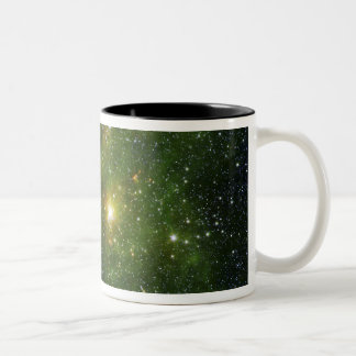 Two extremely bright stars coffee mug