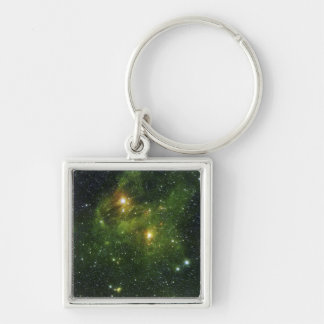 Two extremely bright stars keychains