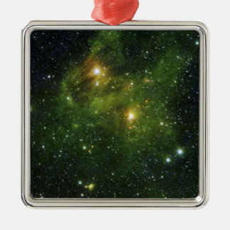 Two extremely bright stars ornament