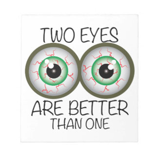 Two Eyes Memo Pads