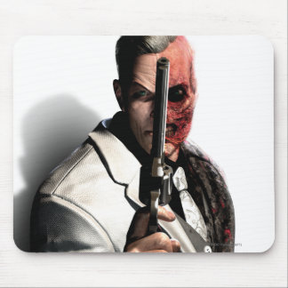 Two-Face 2 Mouse Pad