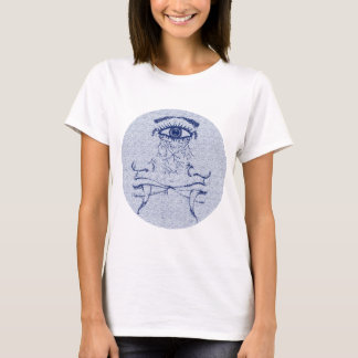 Two face, blue face T-Shirt