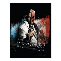 Two-Face - Convicted Postcard