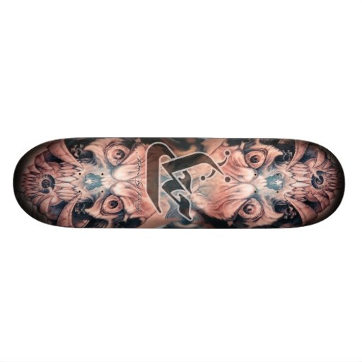 Two Face Skate Board