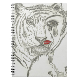 Two Face Tiger Notebook