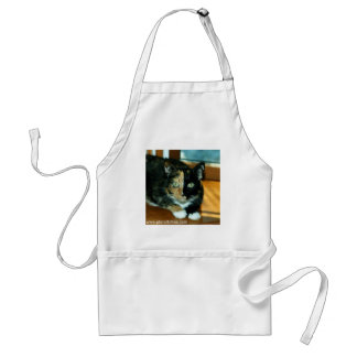Two-Faced Cat from Planet Kitties Adult Apron