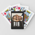 Two Faced Liar - Obama Poker Cards