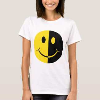 Two Faced Smiley Face T-Shirt
