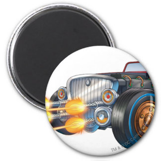 Two Face's Car 2 Magnet