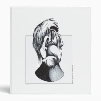 Two Faces of Grief Vinyl Binders