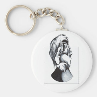 Two Faces of Grief Keychain