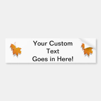 two fall leaves graphic.png bumper sticker