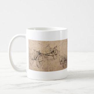 Two farm wagon by Paul Rubens Coffee Mug