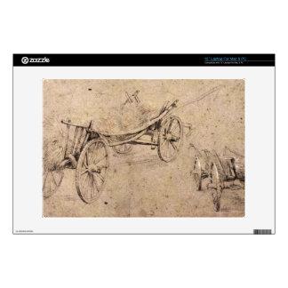 Two farm wagon by Paul Rubens Laptop Skins