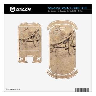 Two farm wagon by Paul Rubens Samsung Gravity 3 Decals
