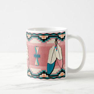 Two Feathers Coffee Mug