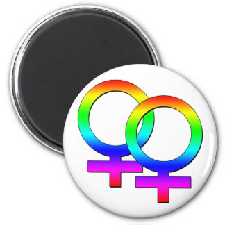 Two Female Signs Magnet