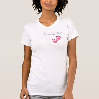 Two-Fer Double Paw Print Tee Shirt