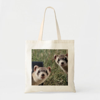 Two Ferrets Tote Bag