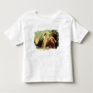 Two figures in Turkish costume in an Eastern lands Toddler T-shirt