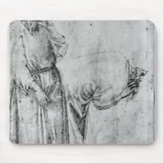Two figures mouse pad