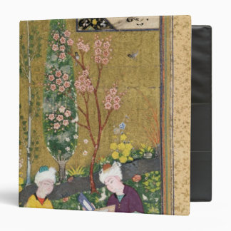 Two Figures Reading and Relaxing in an Orchard Binder